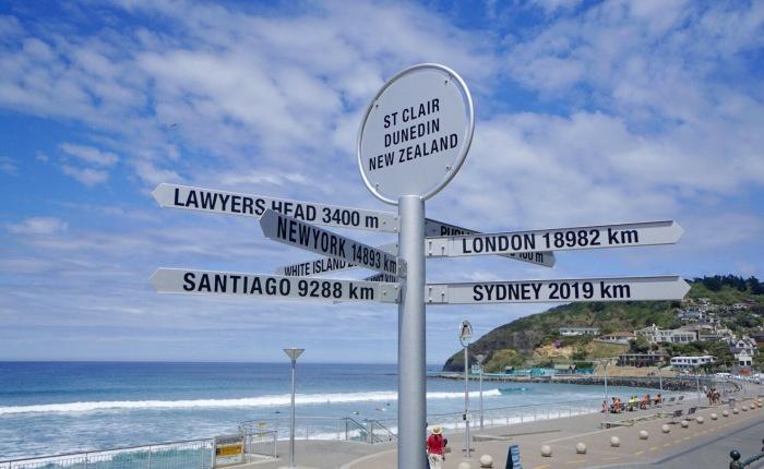Tag 23 – Dunedin: Strand undZug