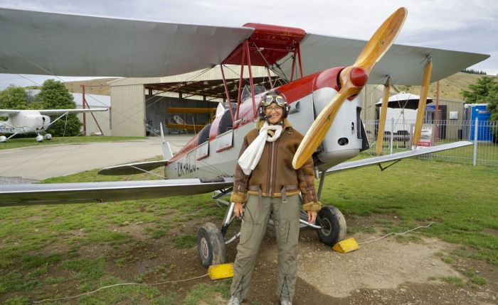 Tag 29 – Wanaka: Tollkühne Elke in ihrer fliegendenKiste