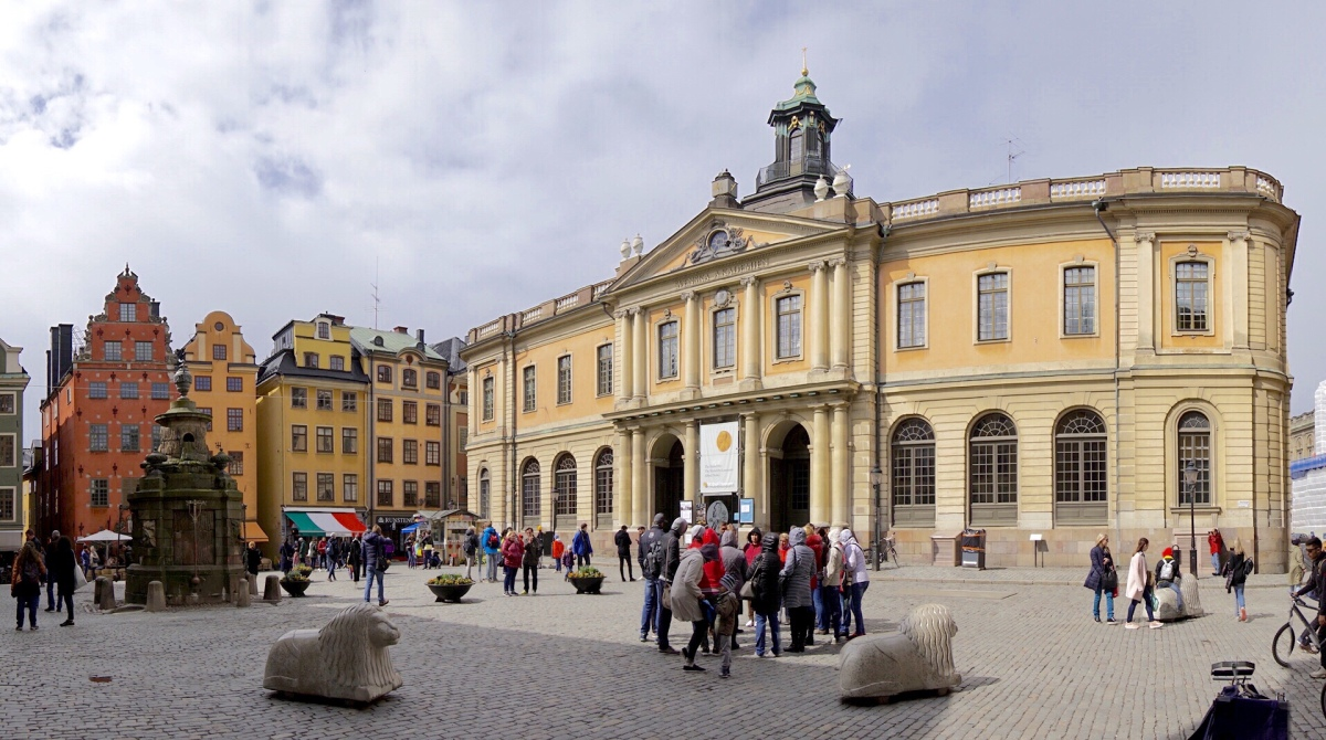 Tage 1 und 2: Stockholm - Alter Schwede!