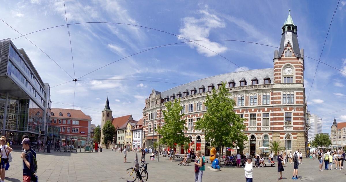 Tag 1: Erfurt - Thüringens Schönste