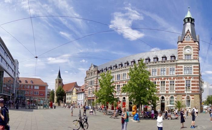 Tag 1: Erfurt – ThüringensSchönste