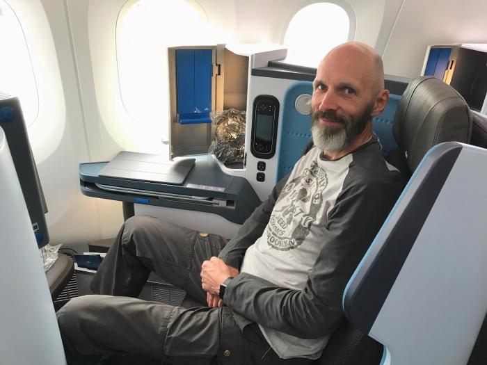 Tag 3: Von Amsterdam nach Toronto – Über denWolken