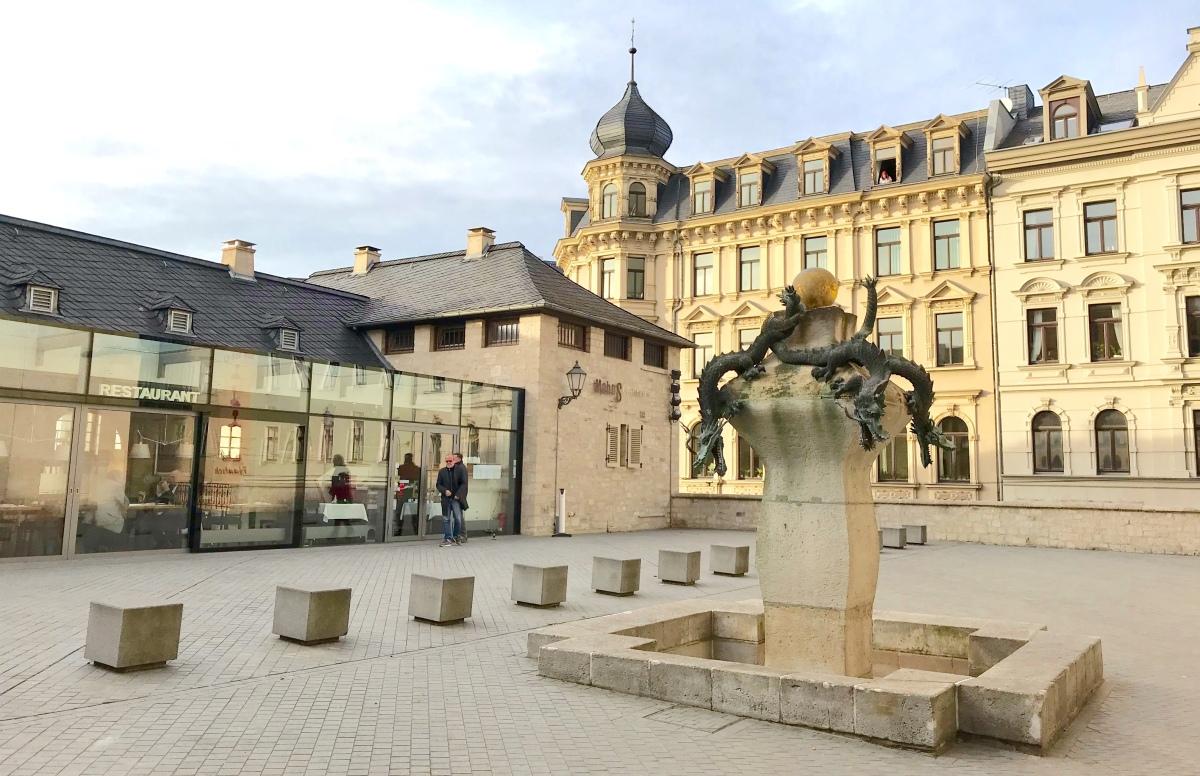 Halle - Klimt und Glühwein