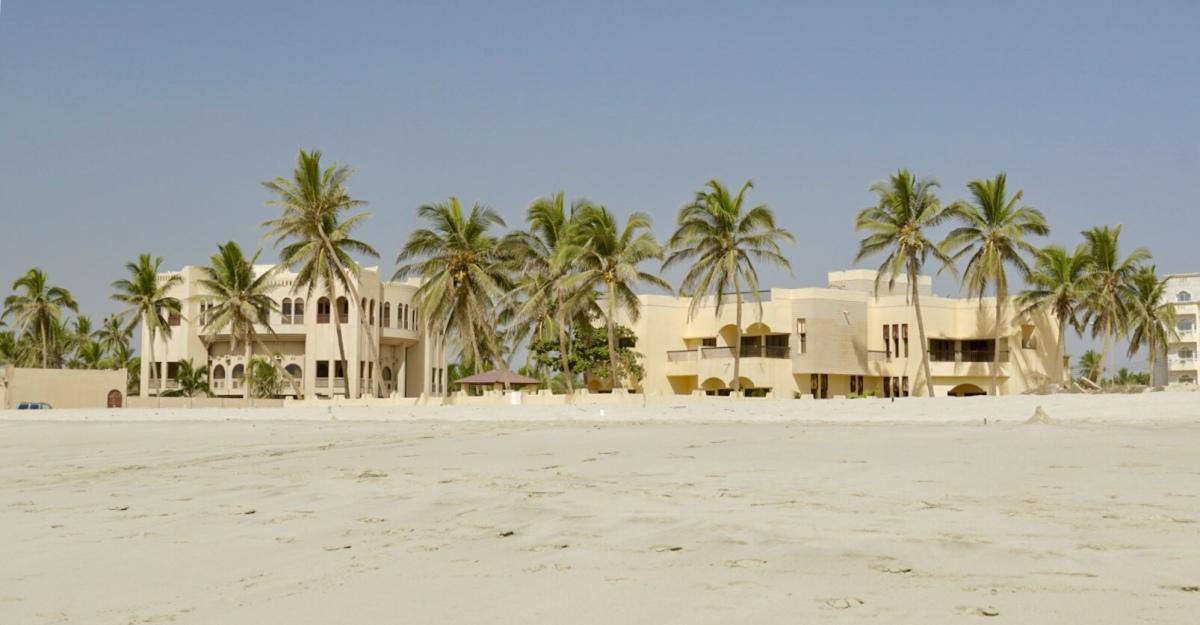 Tag 3: Dubai - Salalah und süßes Fast-Nichtstun
