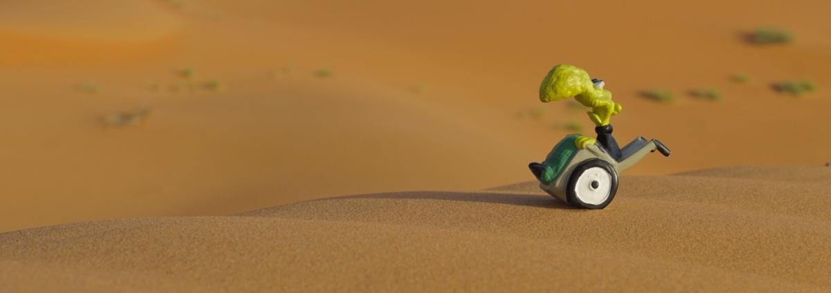 Tag 6: Rub Al-Khali - Auf Sand gebaut