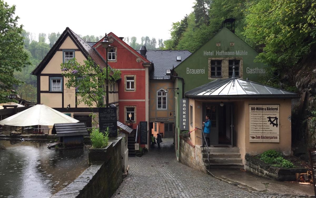 Tage 4 und 5: Sächsische Schweiz - Schmilka zum Abschied